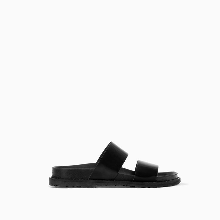 Image 1 of SANDALS WITH STRAPS from Zara