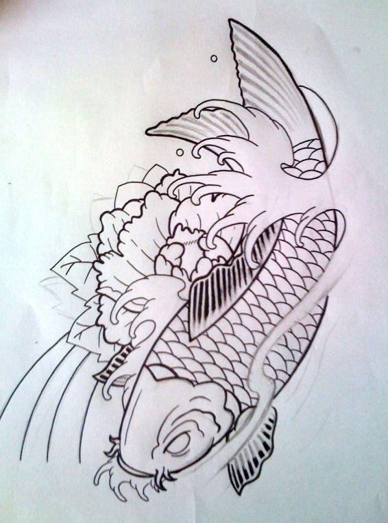 100 desenhos de Carpas
