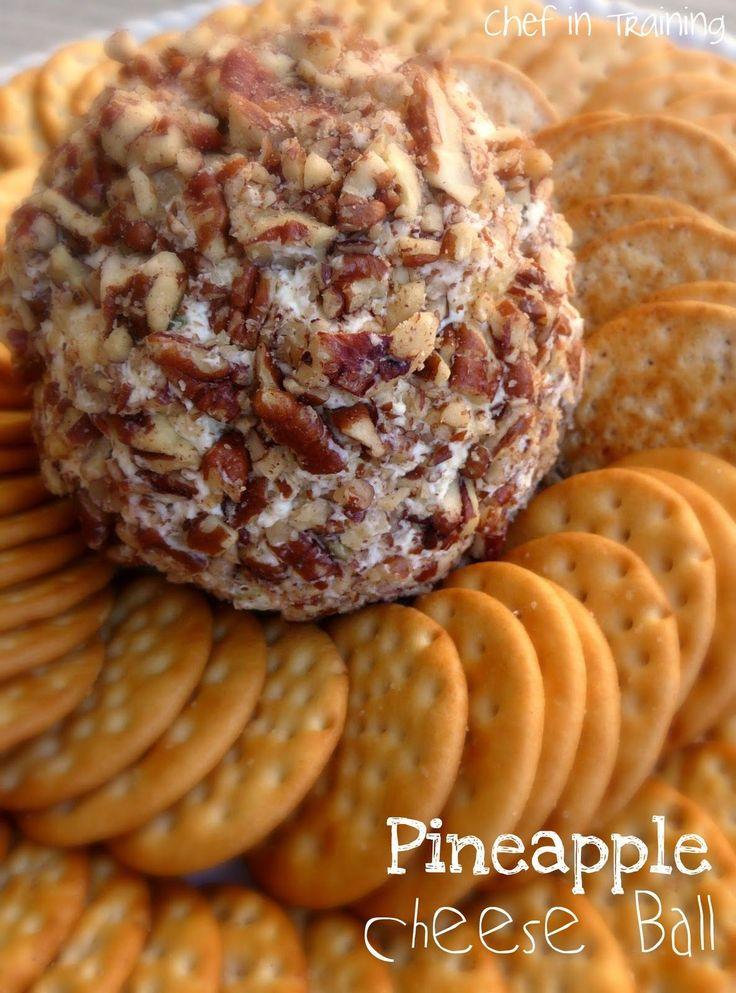 Pineapple Cheese Ball | Chef in Training