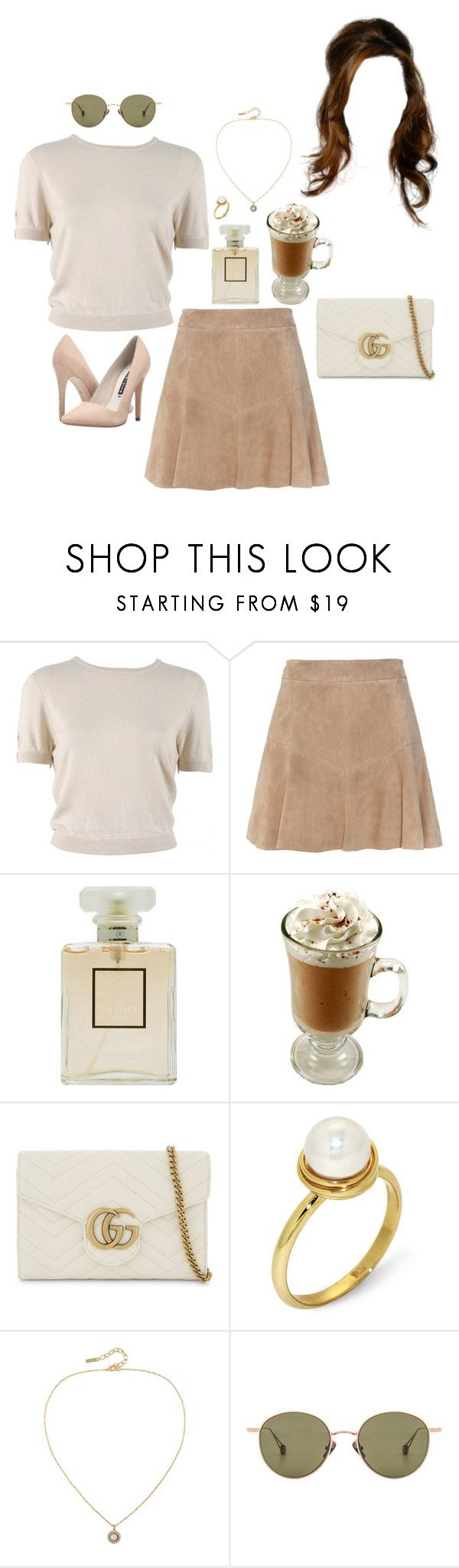 """Untitled #1548"" by rachel-rentz ❤ liked on Polyvore featuring Behnaz Sarafpour, Chanel, Gucci, Arosha Luigi Taglia, Susan Caplan Vintage, Ahlem and Alice + Olivia"