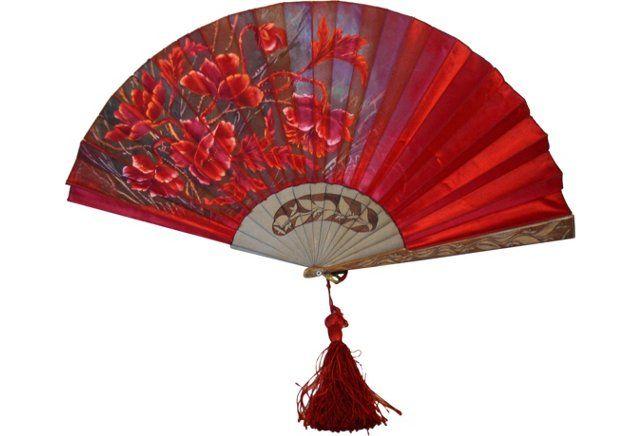Art Nouveau Fan, 1920