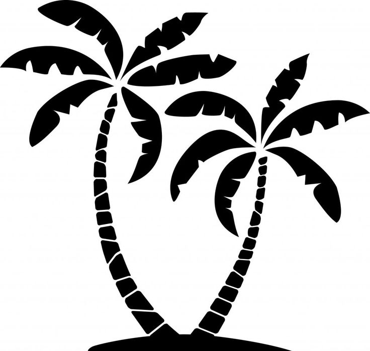 Clip art palm trees free