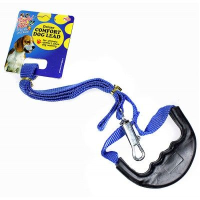 Deluxe Comfort Dog Lead Blue
