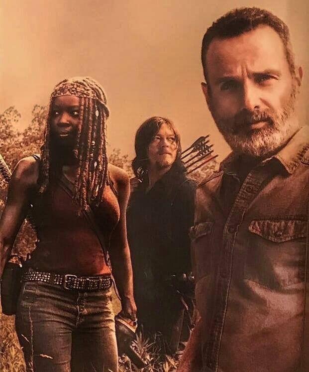 Richonne Michonne Rick The Walking Dead Amc Rick Walking Dead Walking Dead Zombies Fear The Walking Dead