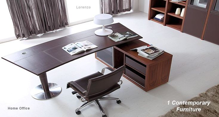 17 best images about contemporary desks on pinterest for Italian office furniture