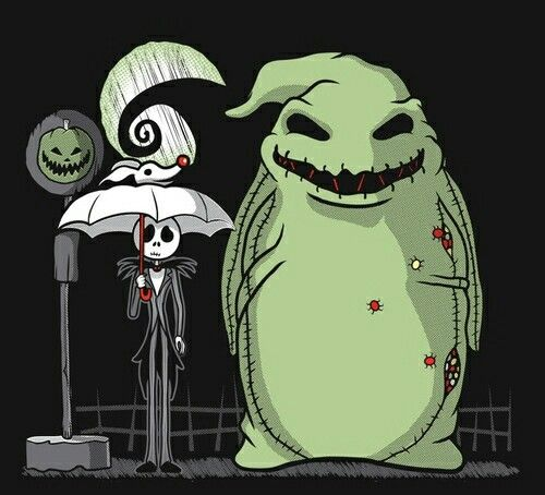 If Tim Burton and Hayao Miyazaki made the Nightmare Before Christmas together, this would be the result.