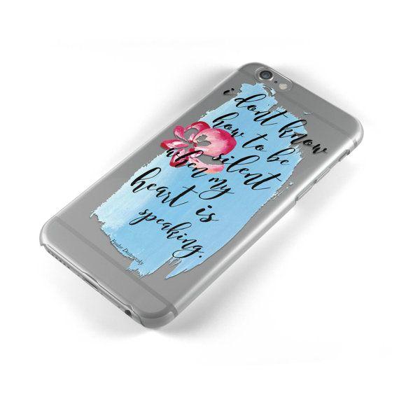 Fyodor Dostoyevsky Clear iPhone Case - Bookish Phone Cover