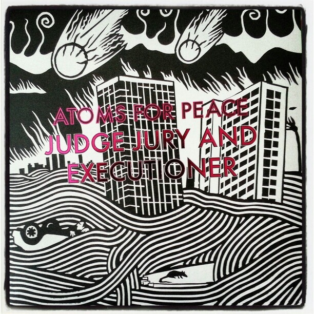 """Atoms for Peace - Judge Jury and ecexutioner ( 12"""" single) #records #vinyl"""