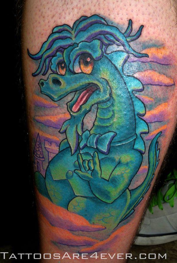 puff the magic dragon tattoos puff the magic dragon