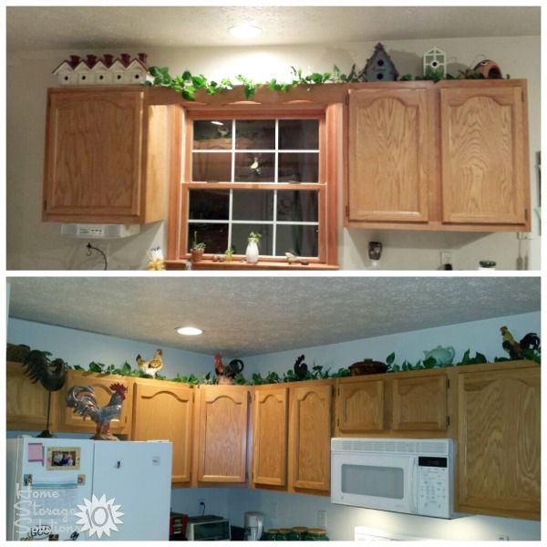 Decorating above kitchen cabinets ideas tips home for Kitchen cabinets 999