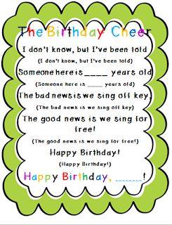 The 2 Teaching Divas- cute birthday chant!