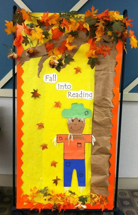 54 Best Images About Fall Bulletin Boards And Doors On
