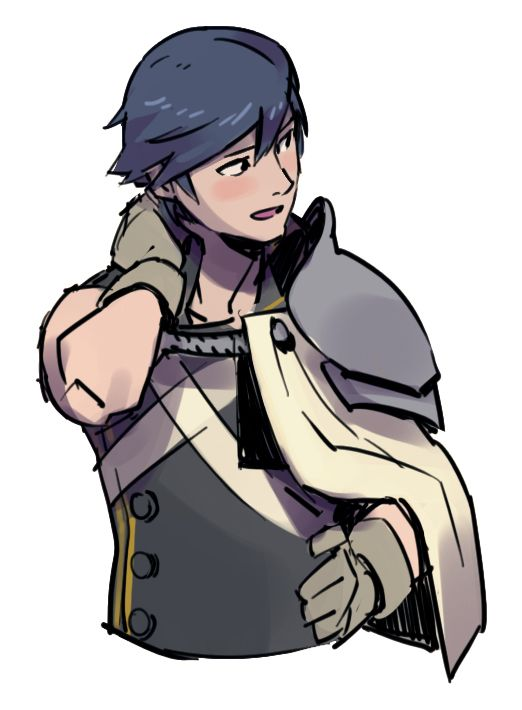 """kimchiossan: """" chrom from sometime this year when I was playing fire emblem awakening """""""