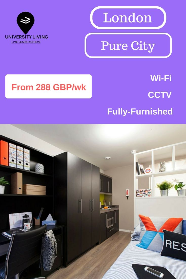 Discover,compare and book verified and secure student accommodation in  London.