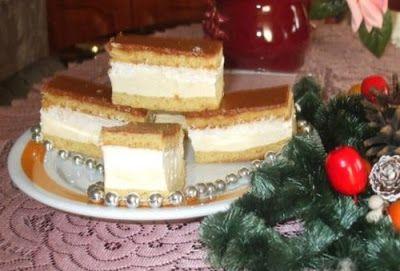 Receptek, és hasznos cikkek oldala: Nagyon finom, Karamellás krémes süti, el lehet veszni egy-egy falatban, de tényleg!