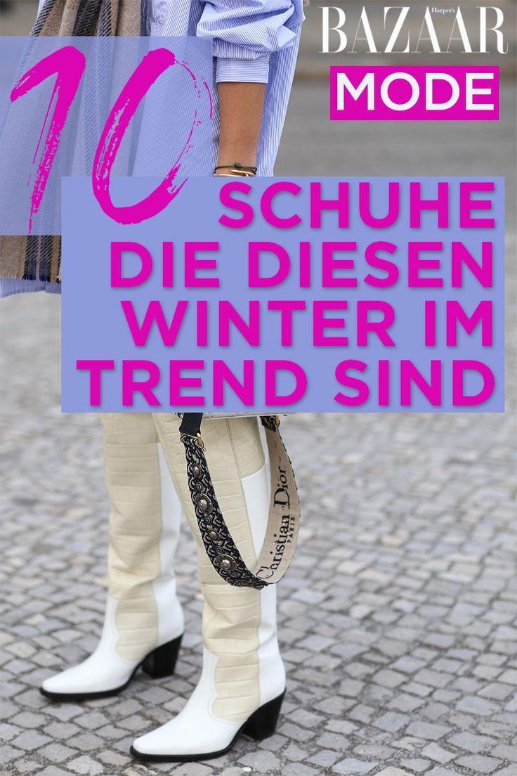 Schuhe im Winter 2019: Das sind die 9 wichtigsten Trends