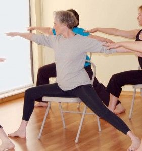 Chair Yoga Vinyasa Flow #chairyoga #vinyasaflow #chairyogaclasses http://www.yoga-teacher-training.org/2006/04/26/chair_yoga_vinyasa_flow/
