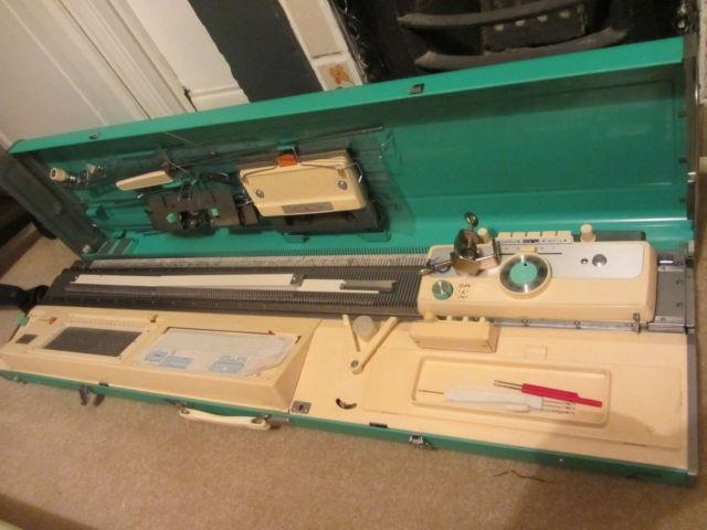 Jones Kh 800 Knitting Machine Punch Card Amp Manuwal Ebay