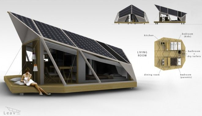 solar powered tent concept/ Way cool!