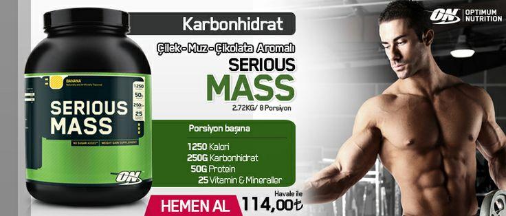 Optimum Nutrition Serious Mass 2727 gr 3 Farklı Aroma Seçeneği - Çilek, Muz ve Çİkolata - http://www.protein7.com/urun-kilo-aldirici-serious-mass-gainer-karbonhidrat-tozu-22-6.html  #protein7 #protein7.com #proteintozu #bodybuilding #whey #wheyprotein #protein_tozu #whey_protein #yakamoz_gida #seriousmass #karbonhidrat