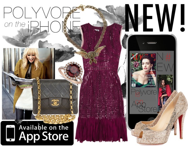 """""""Polyvorre one the App Stor"""" by thefashionbeginner ❤ liked on Polyvore"""