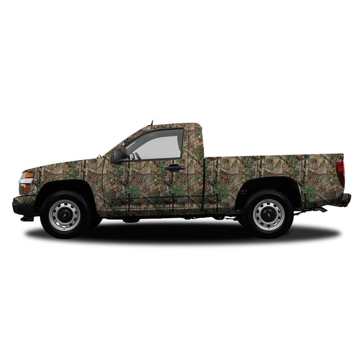 Realtree Camo Compact Truck/SUV Size Vehicle Wrap Xtra Green