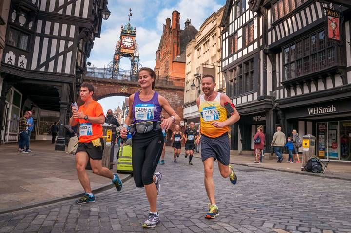 An award winning race: The MBNA Chester Marathon - Women's Running
