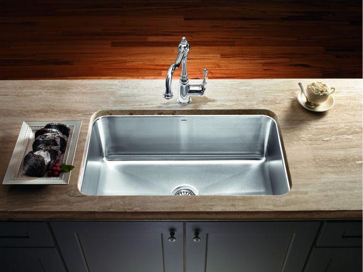 Eine Schussel Edelstahl Spulbecken Kuchenmobel Ein Schussel Edelstahl Stainless Steel Kitchen Sink Undermount Single Basin Kitchen Sink Kitchen Sink Install
