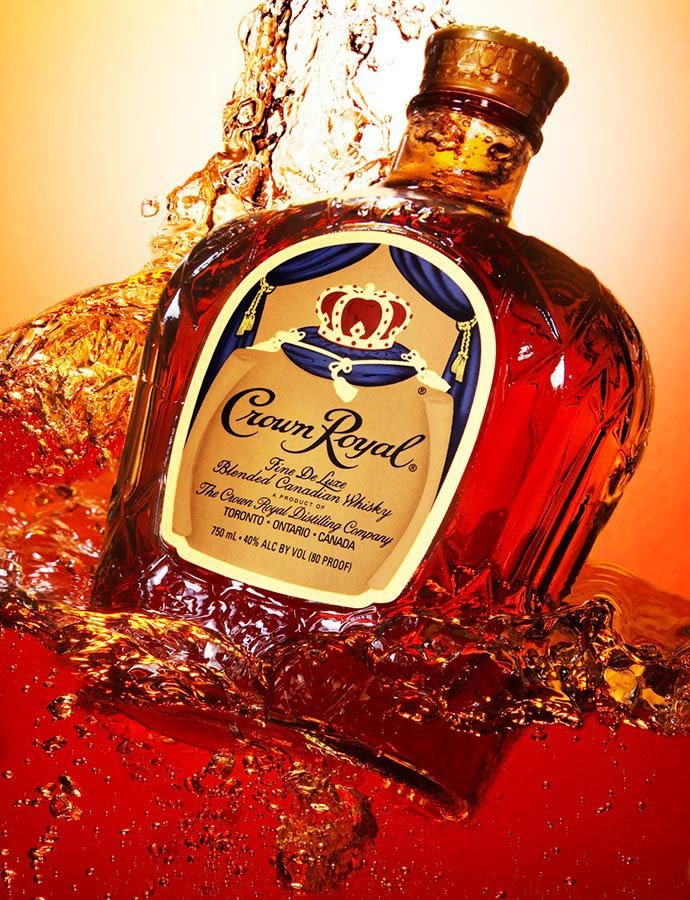 If I'm gonna sip whiskey, its got to be Crown Royal- and the crown logo has nothing to do with it...I have regal taste- can't be helped