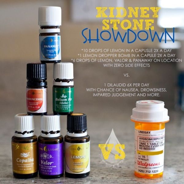 young living essential oils for kidney stones by charmaine