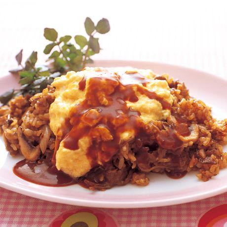 ドミグラスソースのオムライス | 藤井恵さんのオムライスの料理レシピ | プロの簡単料理レシピはレタスクラブネット