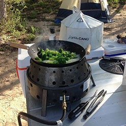 Collapsible, Portable Grill | Volcano Grills