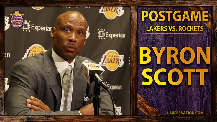 Lakers vs. Rockets: Byron Scott Talks Julius Randle's Injury, Dwight And...  • Check out my site: (http://slapdoghoops.blogspot.ca ).   • Like my Facebook Page: https://www.facebook.com/slapdoghoops • Follow me on Twitter: https://twitter.com/slapdoghoops • Add my Google+ Plus Page to your Circles: https://plus.google.com/+SlapdoghoopsBlogspot/posts • For any business or professional inquiries, connect with me on LinkedIn: http://ca.linkedin.com/in/slapdoghoops/