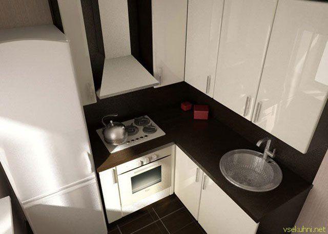 очень маленькая кухня - Поиск в Google
