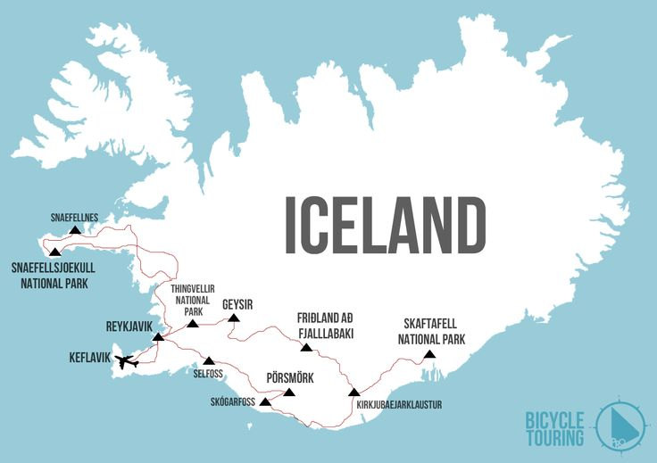 Bicycle Touring Iceland. 1) Get mountain bike 2) Get in off road-ing shape 3) Get to Iceland and just GO.  Let me know if you're interested in joining me.