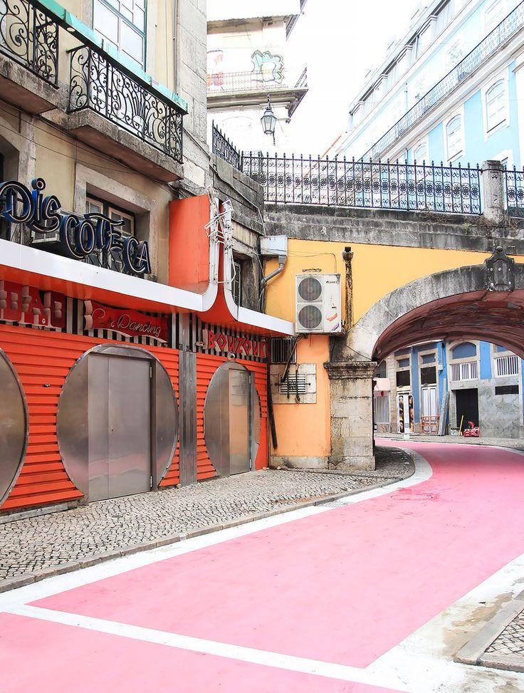 { Lisbon, Portugal } Cais do Sodré, The Pink Street, Photo by @chrissihernandez
