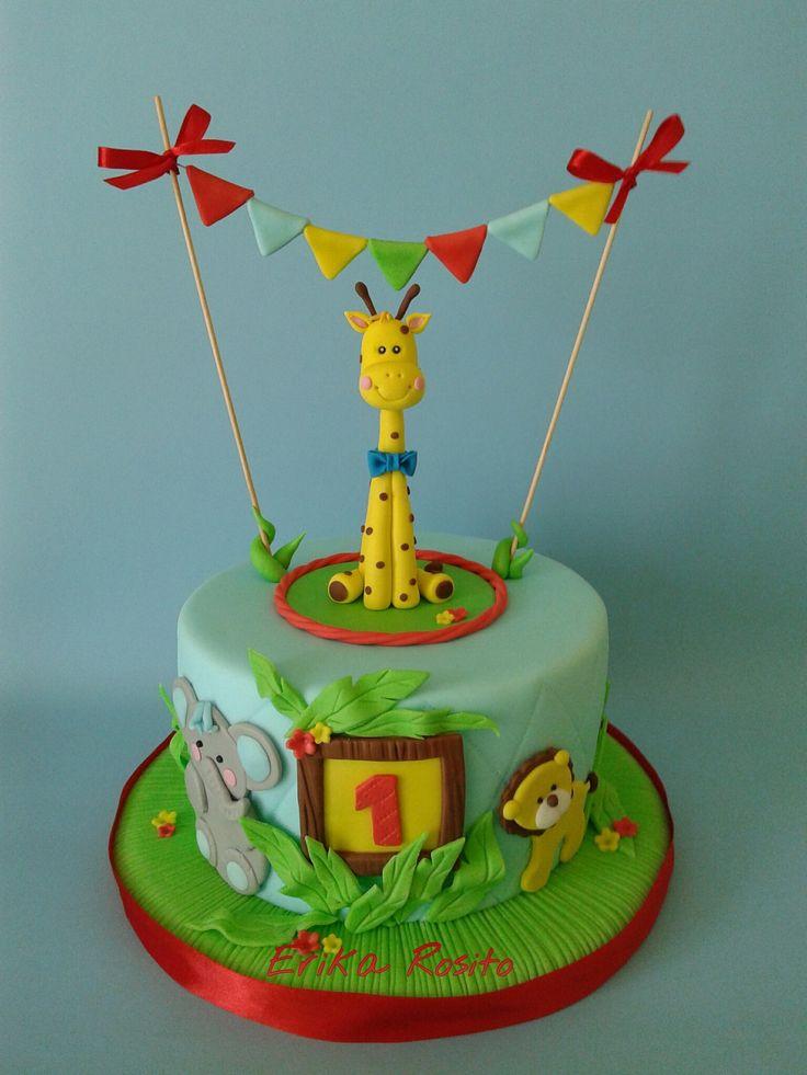 Erika Rosito - #cakedesign #circo  #circuscake #cakedesignitalia