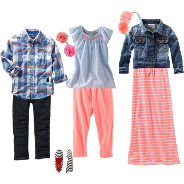 Child spring picture coordinates by mallydavis on Polyvore featuring Old Navy and OshKosh B'gosh