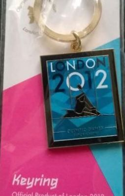 London 2012 #olympics #keyring  - #canoe slalom sports specific venue collection,  View more on the LINK: 	http://www.zeppy.io/product/gb/2/262403781066/