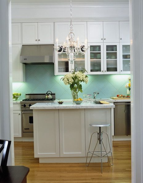 Kitchens, Small Kitchens, Aqua Kitchens, Kitchens Chandeliers