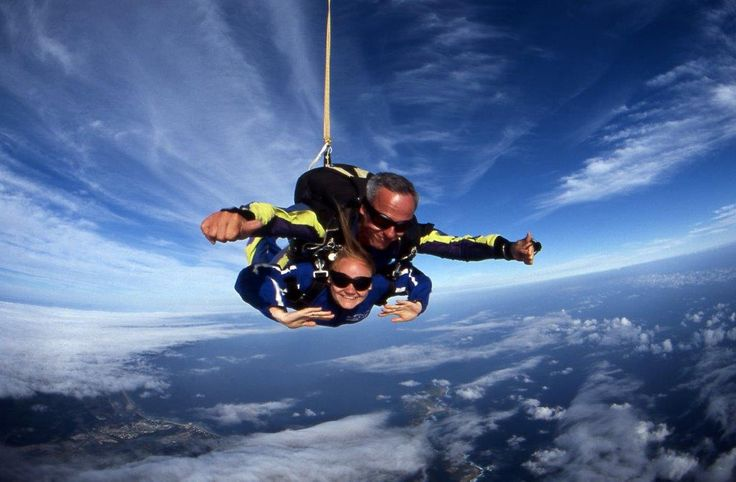 Skydiving courses and tandem jumps with Skydive Plett in South Africa