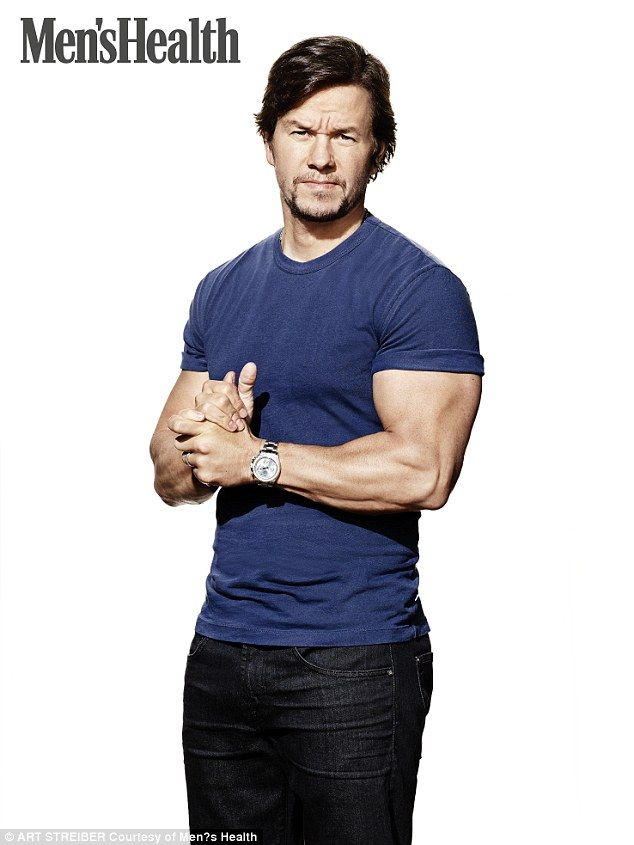 He's still got it:while his early days as a Calvin Klein poster boy are behind him, Mark Wahlberg still adheres to the rigorous health and fitness regimen that helped win him an army of female admirers