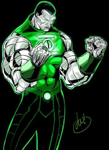 Green Lantern colossus