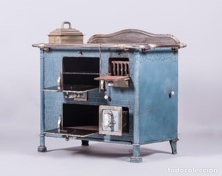Antigüedades: Antigua Cocina Francesa 1901 - Foto 4 - 65942110