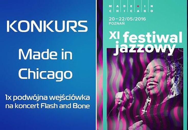 Do wygrania bilet na festiwal jazzowy! Zapraszamy na: www.bit.ly/AplikacjaKonkursowa