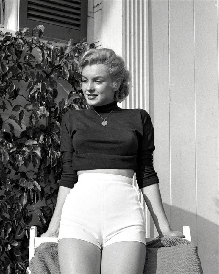 Marilyn Monroe. Photo by Bob Beerman, 1950