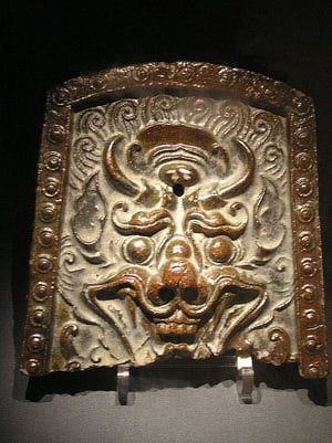INTERMEDIATE (Grades 11-12): Royal dragons could only be displayed by members of the sacred and true bone ranks - via Wikipedia