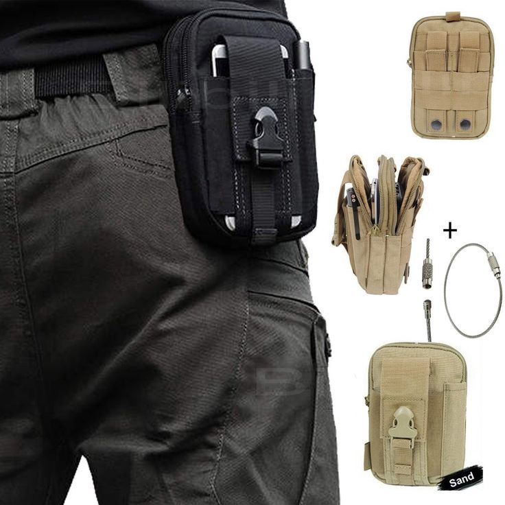 Tactical Molle Holster Pouch Belt Loops Waist Packs Phone Bag Pocket Fanny Pack Money for Iphone 6s 5s 6 Plus Samsung Galaxy Note N9000 Edge S6 + 1 Pcs Key Ring Rope (Sand). Compatible Tough Hard Duty Tactical Molle Compatible Military Waist Bags Security Pack Rock Climbing Outdoor Gear Holster Utility Pouch Hiking Cycling Carrying Big Capacity Nylon Pouch /Tools Belt Waist Bag / Pocket Money Purse. Compatible with: Samsung Galaxy S3 i9300 S4 i9500 S5 i9600 S6 S6 Edge Galaxy Note i9220…
