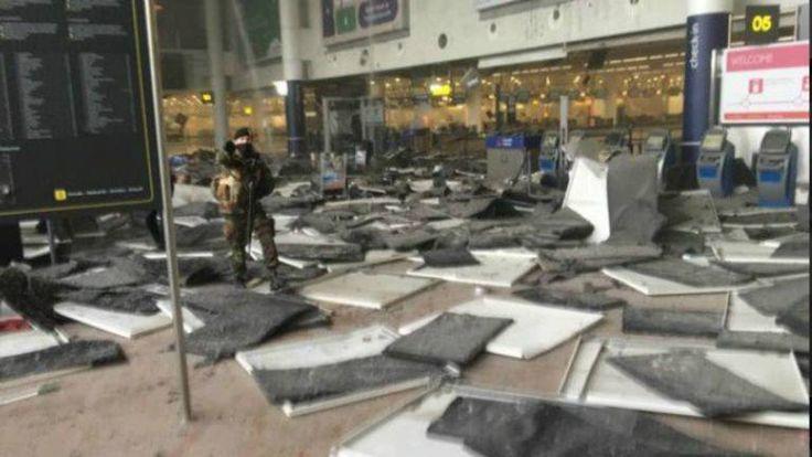 Múltiples explosiones en el aeropuerto y estaciones del metro de Bruselas: al menos 13 muertos y numerosos heridos – 22.03.2016 – LA NACION  – Adribosch's Blog
