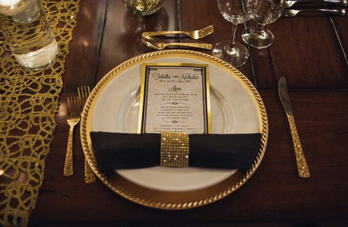 Runners, The O'jays And Table Settings